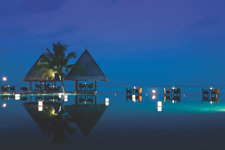night at four seasons kuda huraa resort maldives