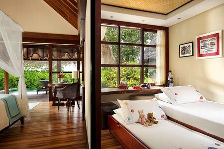 interior at four seasons kuda huraa resort maldives