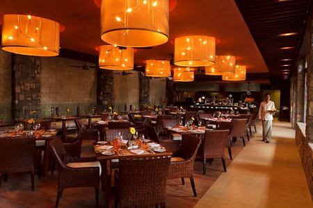 restaurant at angsana balaclava hotel mauritius