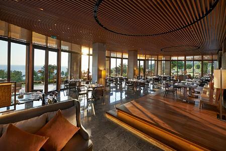 restaurant at mandarin oriental bodrum hotel turkey