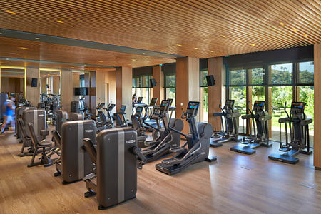 Fitness Centre at mandarin oriental bodrum hotel turkey