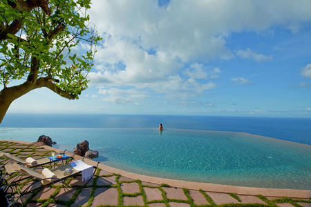 Infinity Pool Guest Edge at monastero santa rosa