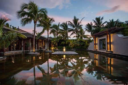 pool at le paradis hotel france