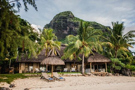 beach at le paradis hotel france