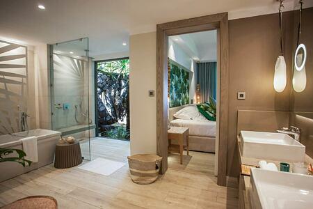 interior at le paradis hotel france