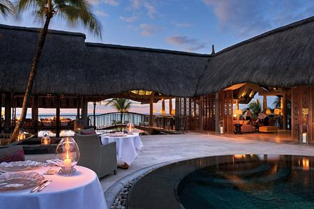 evening dining at royal palm hotel mauritius