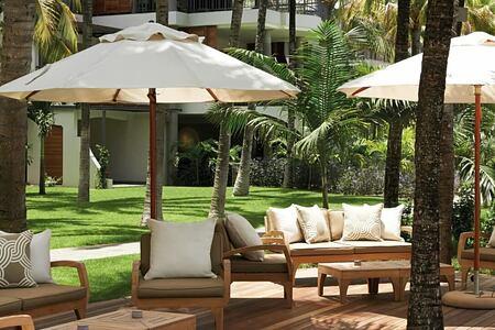 seating at royal palm hotel mauritius