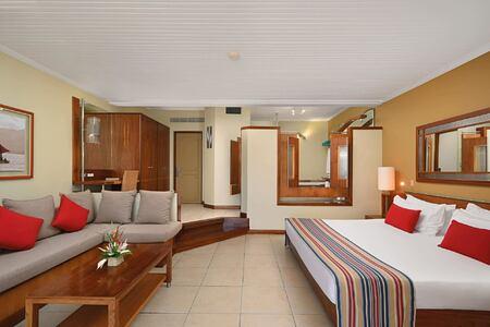 room at shandrani resort mauritius