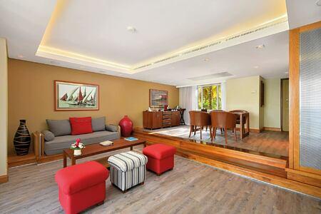 suite at shandrani resort mauritius