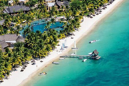 beach at trou aux biches hotel mauritius