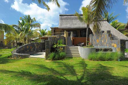 exterior at trou aux biches hotel mauritius
