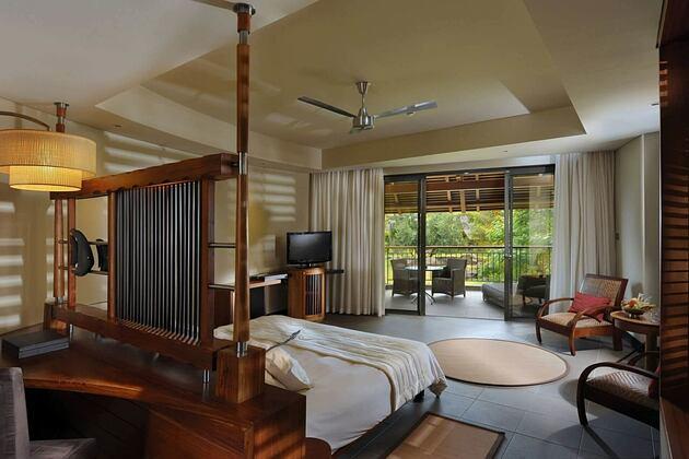 interior at trou aux biches hotel mauritius