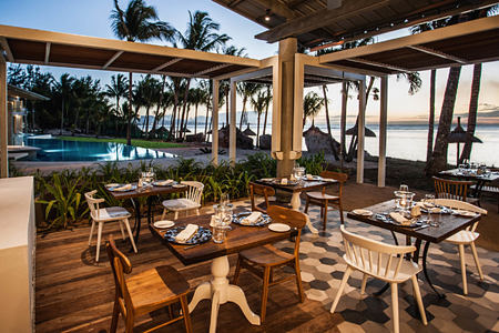dining at le victoria hotel mauritius