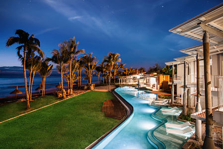night at le victoria hotel mauritius