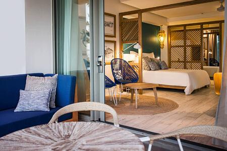 room at le victoria hotel mauritius