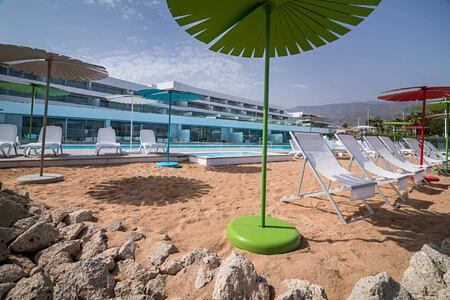 Main Pool Beach at baobab suites tenerife