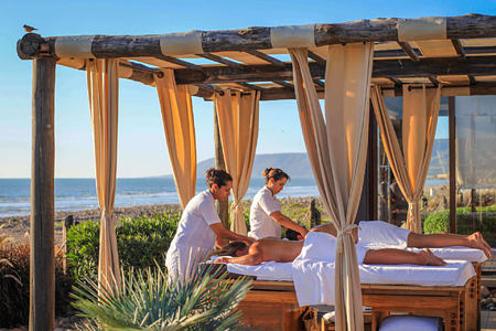 Massage at paradis plage morocco