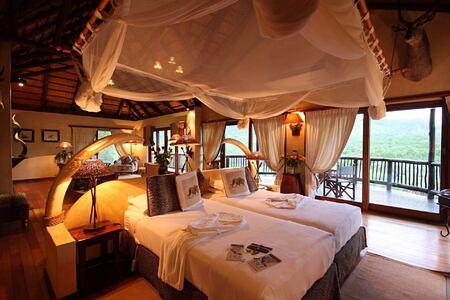 Mkuze Falls safari suite south africa
