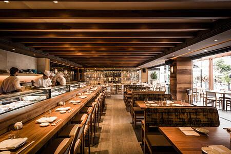nobu restaurant at puente romano hotel marbella