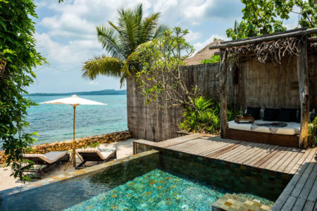 ocean view villa at song saa resort cambodia
