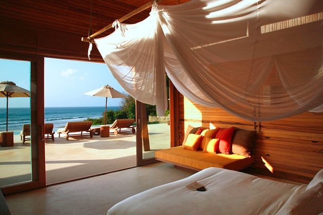 ocean front 4 bedroom pool villa at six senses con dao hotel vietnam