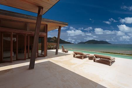 ocean font 4 bedroom villa at six senses con dao hotel vietnam