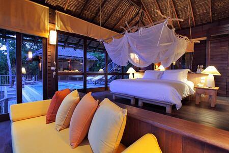 ocean pool villa at six senses yao noi resort phuket thailand