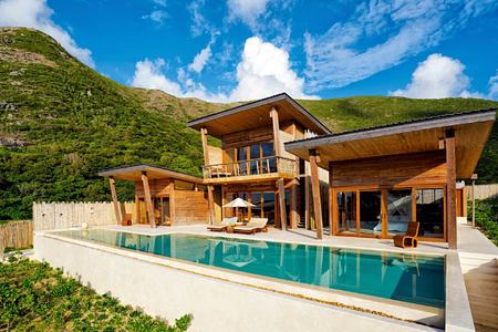 ocean view 4 bedroom pool villa at six senses con dao hotel vietnam