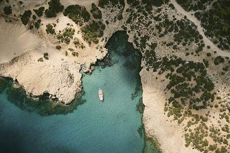 aerial view of anassa hotel cyrpus
