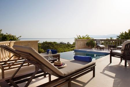 one bedroom with pool at anassa hotel cyrpus