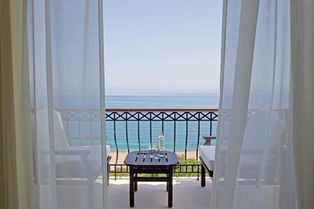 room balcony at anassa hotel cyrpus