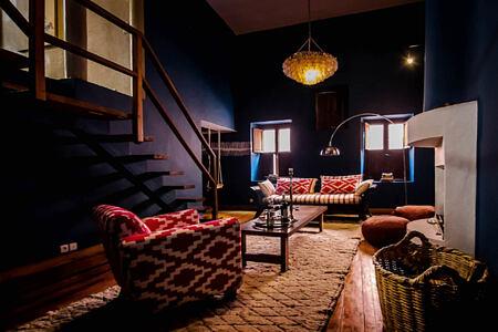 PLUNGE POOL at riad el fenn hotel morocco