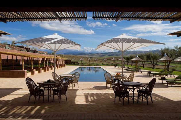 pool at Le Palais Paysan hotel morocco