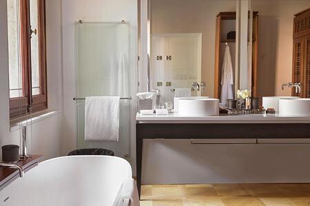 Palazzo Bedroom at aman hotel venice