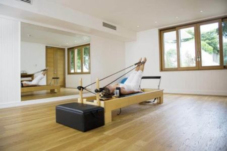 Parrot Cay Pilates Studio at como parrot cay resort caribbean