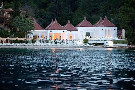 Pasha Bar & Restaurant at hillside beach club turkey