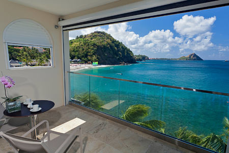 Penthouse View at the body holiday resort st lucia