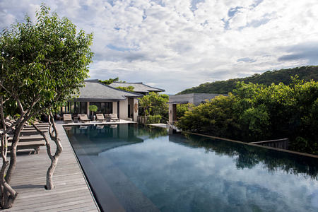 Pool and pool deck - Residence at amanoi luxury resort vietnam