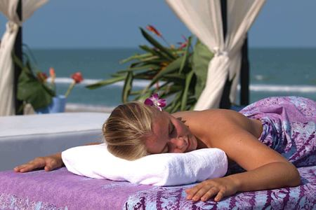 Poolside Massage at aava resort and spa thailand