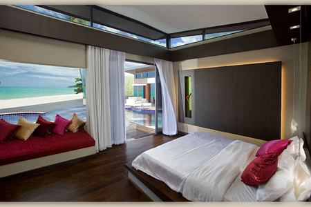 Poolside Villa at aava resort and spa thailand