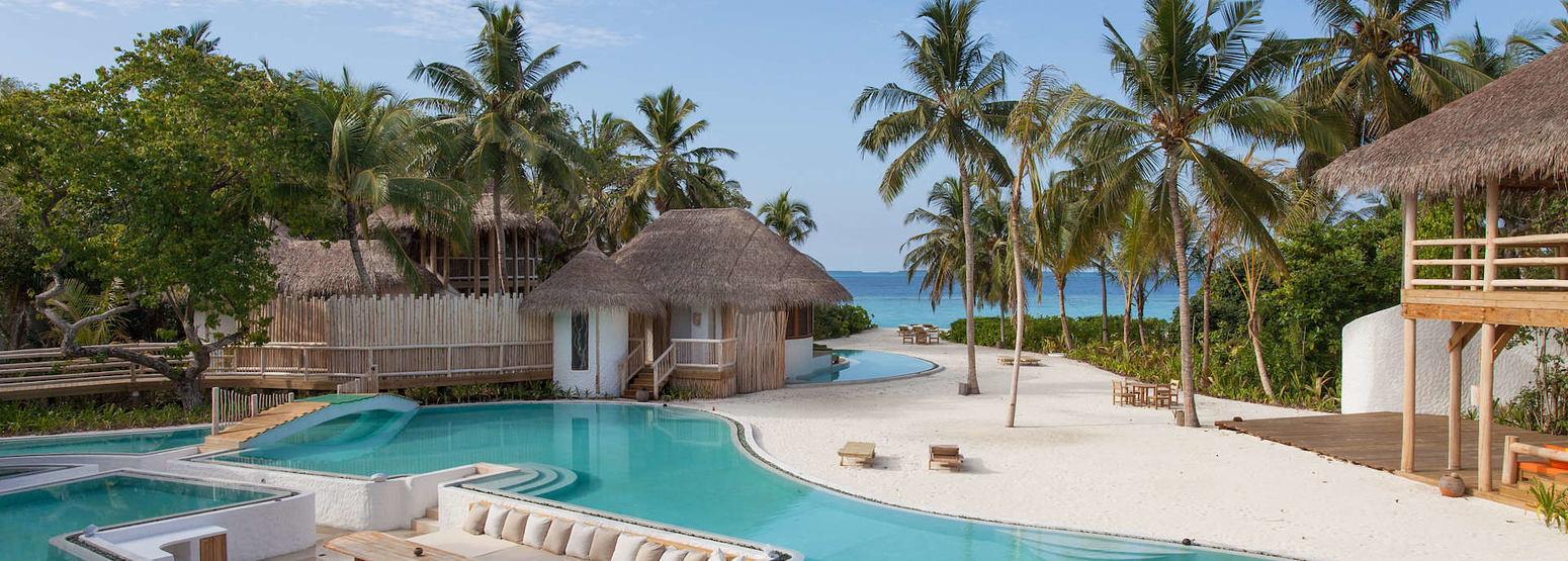 Private Reserve Pool at Soneva Fushi Beach Resort Maldives