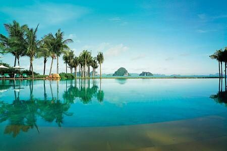 pool at phulay bay krabi resort thailand