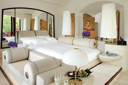 bedroom at phulay bay krabi resort thailand