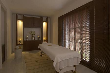 spa treatment room at amanruya hotel turkey