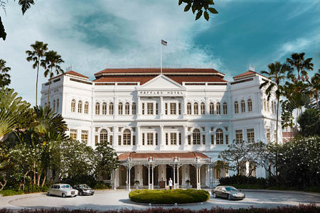 Raffles Hotel Singapore - Hotel Facade