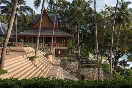 resort steps at amanpuri hotel phuket