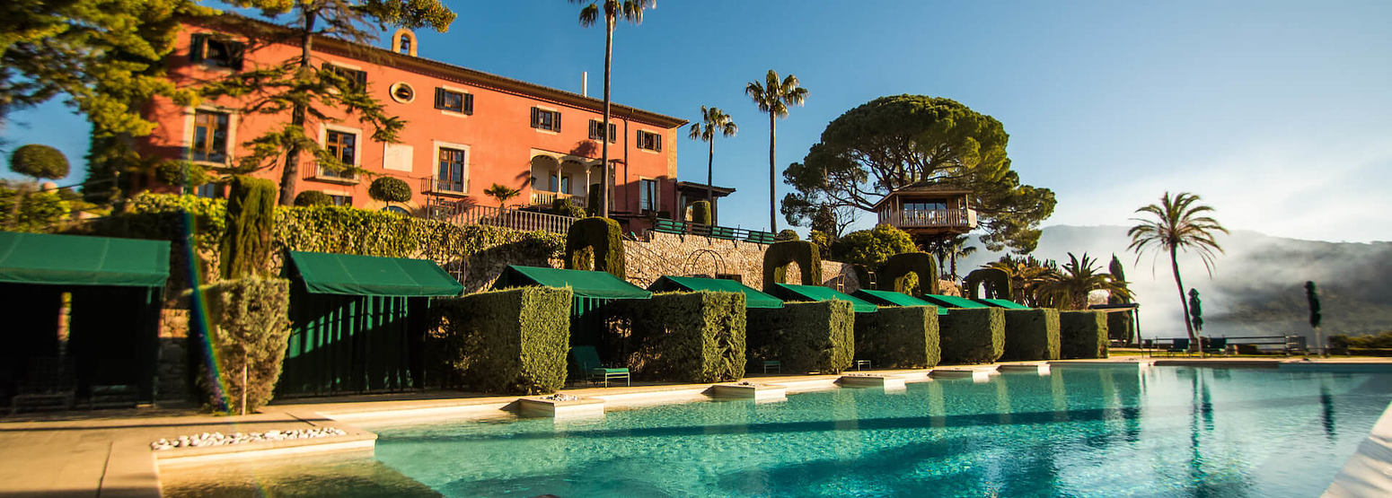 pool at gran hotel son net mallorca spain