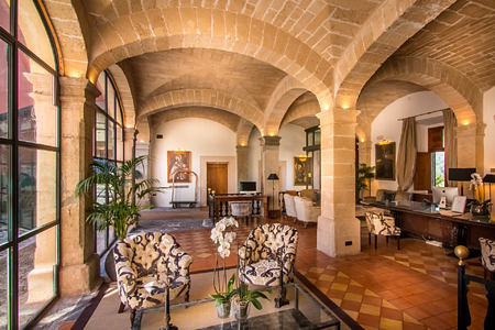 interior at gran hotel son net mallorca spain