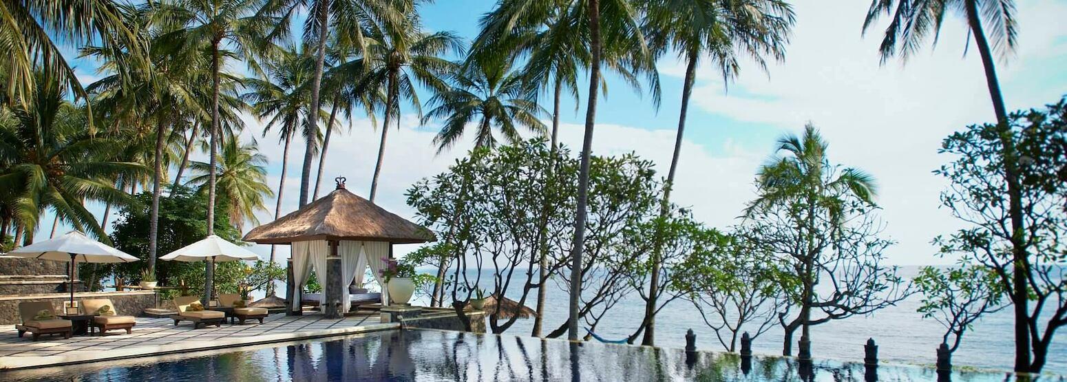 pool at spa village resort tembok bali