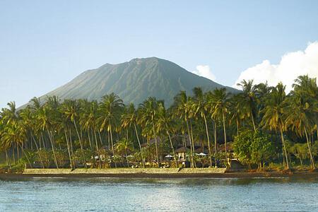 beach view at spa village resort tembok bali